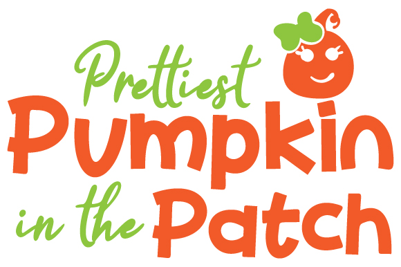 Prettiest Pumpkin in the Patch Halloween Plotterdatei von Creative Fabrica Crafts