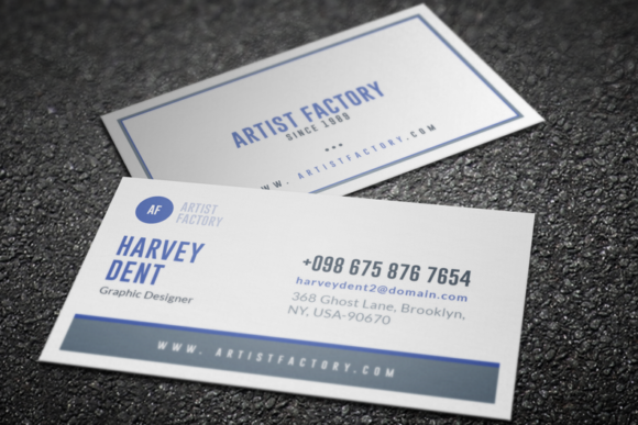 Professional business card graphic by jongli creative fabrica professional business card reheart Image collections