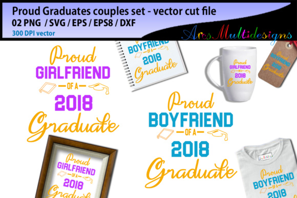Print on Demand: Proud to Be a Graduate Couples Set Graphic Crafts By Arcs Multidesigns