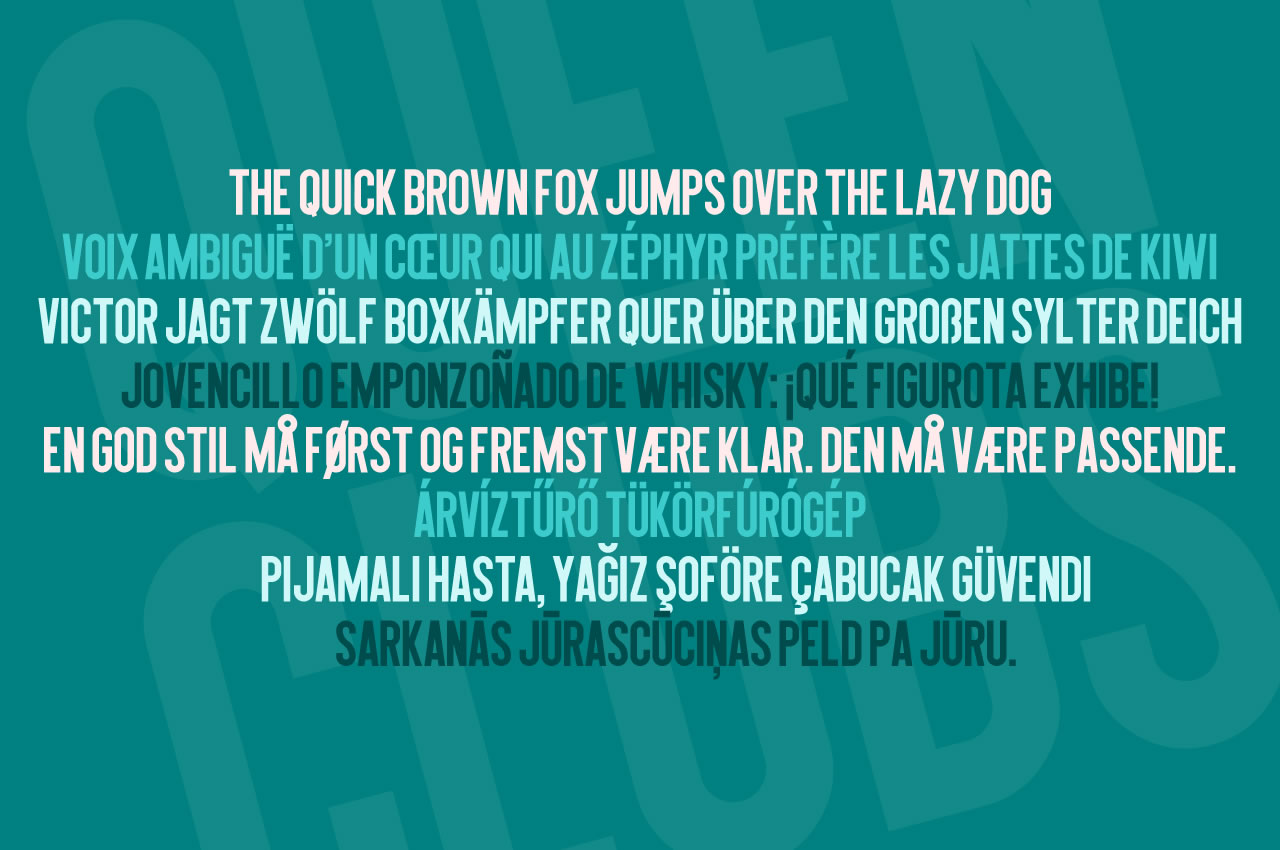 Print on Demand: Queen of Clubs Sans Serif Font By Chequered Ink - Image 2