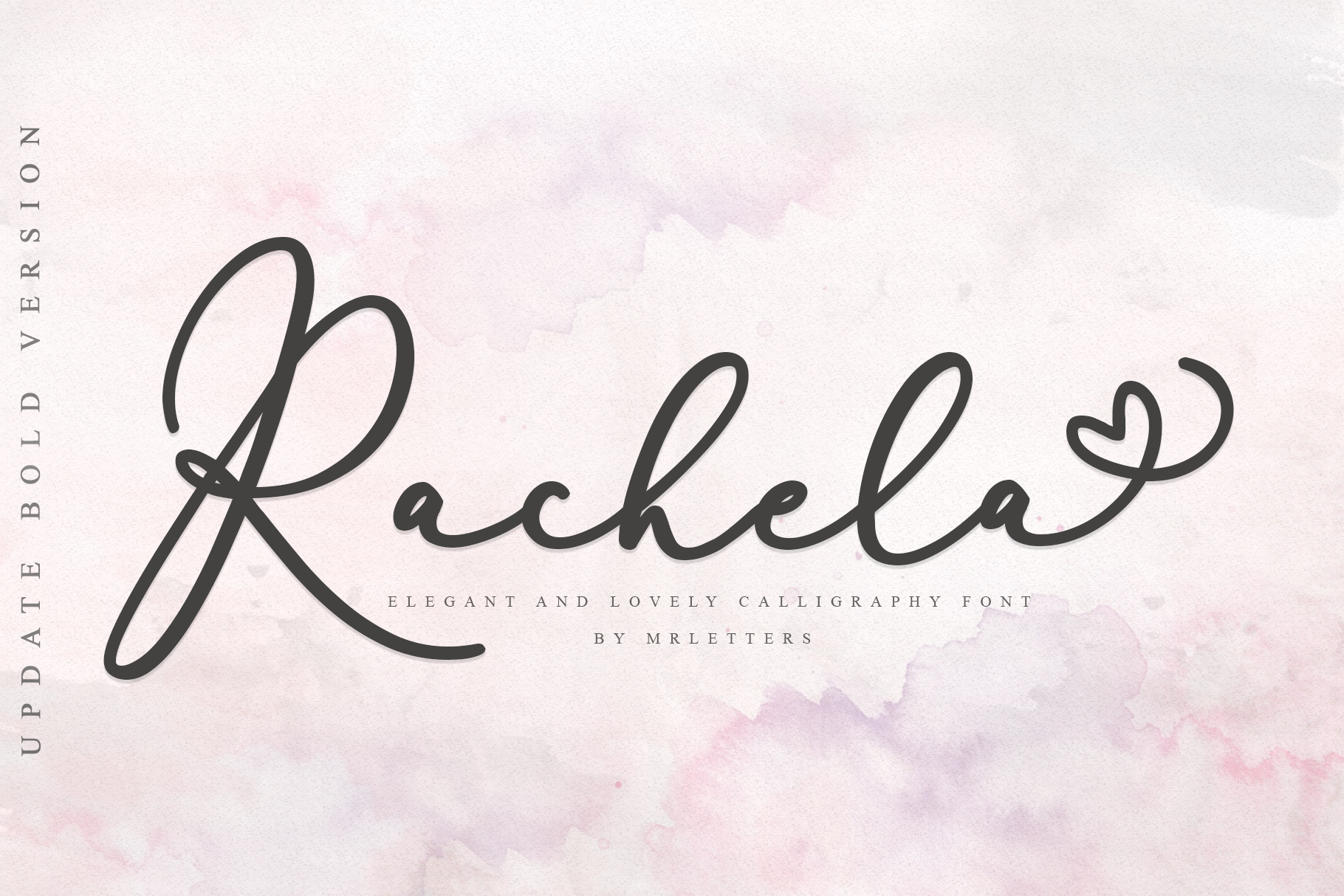 Print on Demand: Rachela Script & Handwritten Font By Mrletters - Image 1