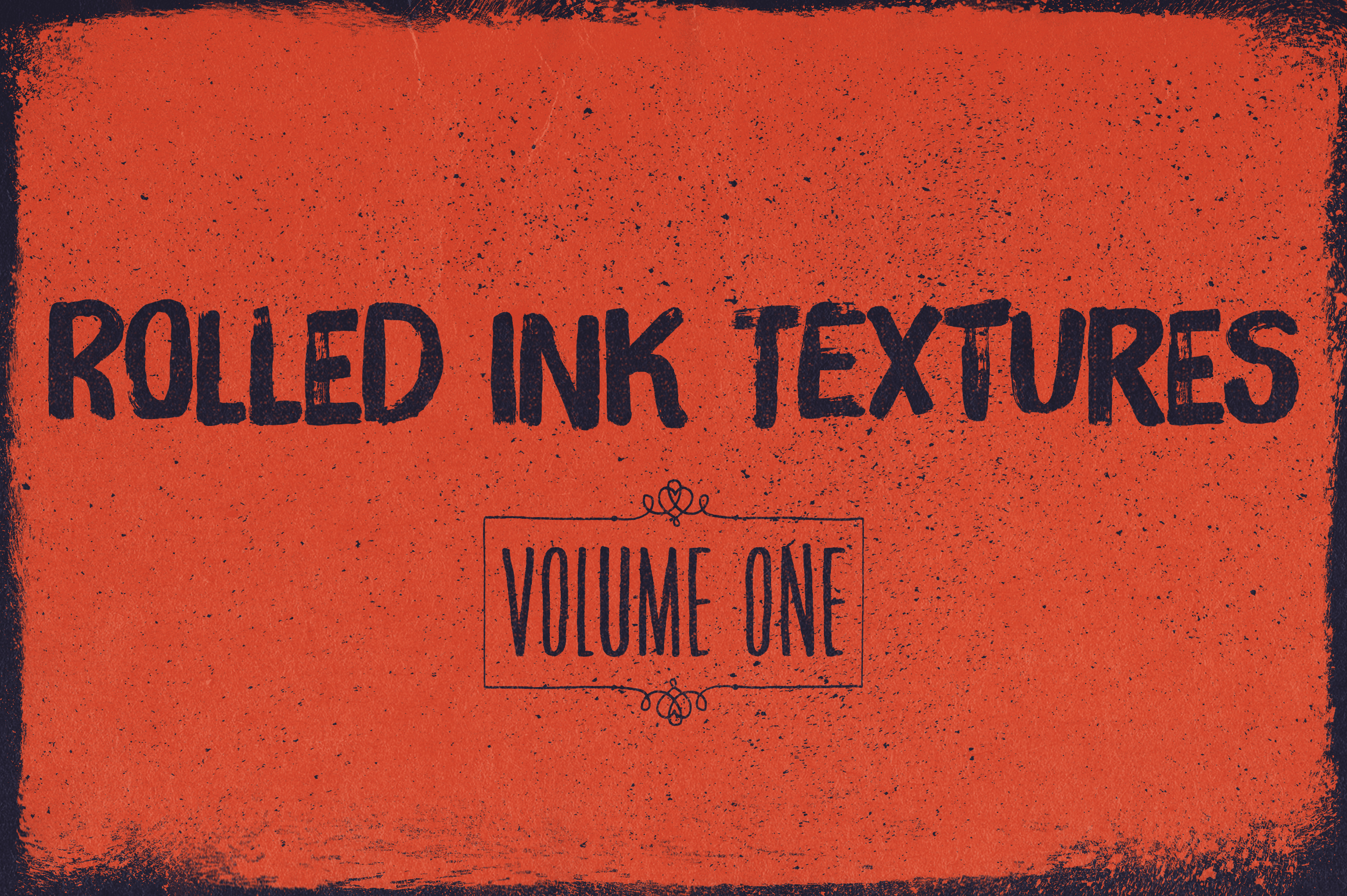 Rolled Ink Textures Volume 01 Graphic Textures By theshopdesignstudio