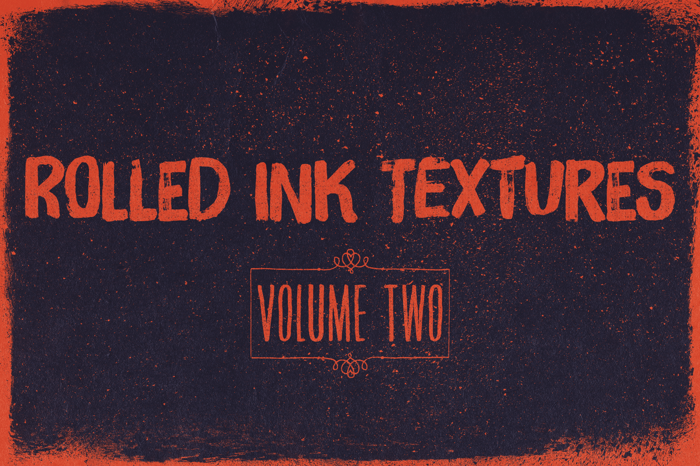 Rolled Ink Textures Volume 02 Graphic Textures By theshopdesignstudio