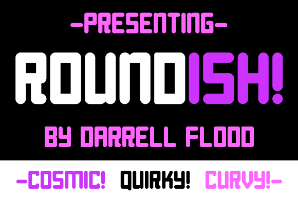 Print on Demand: Roundish Display Font By Dadiomouse