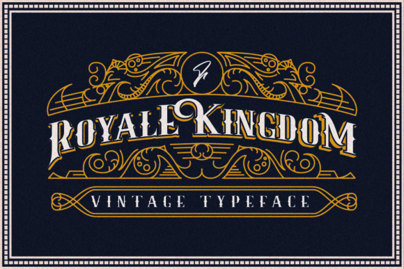 Print on Demand: Royale Kingdom Display Font By youthlabs