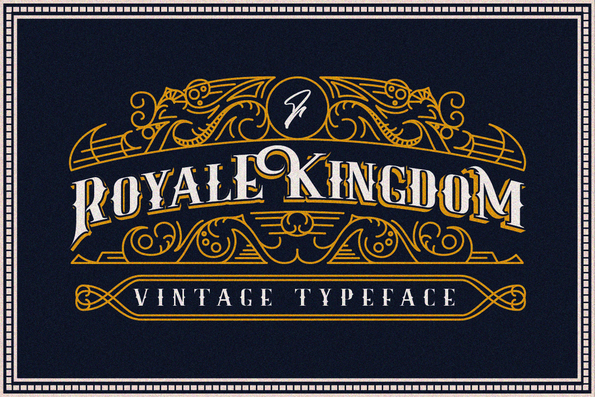 Download Free Royale Kingdom Font By Youthlabs Creative Fabrica for Cricut Explore, Silhouette and other cutting machines.