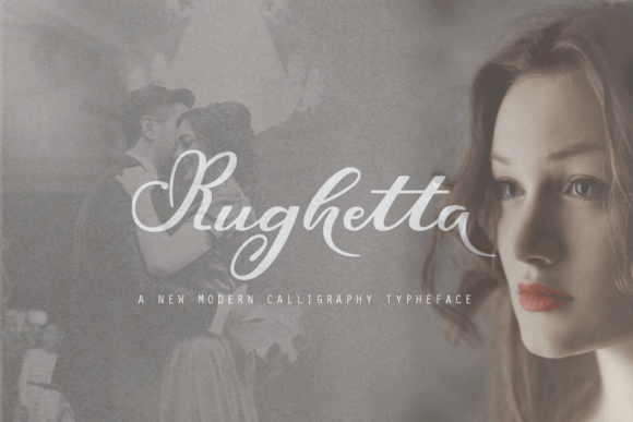 Print on Demand: Rughetta Script & Handwritten Font By Ageless Type