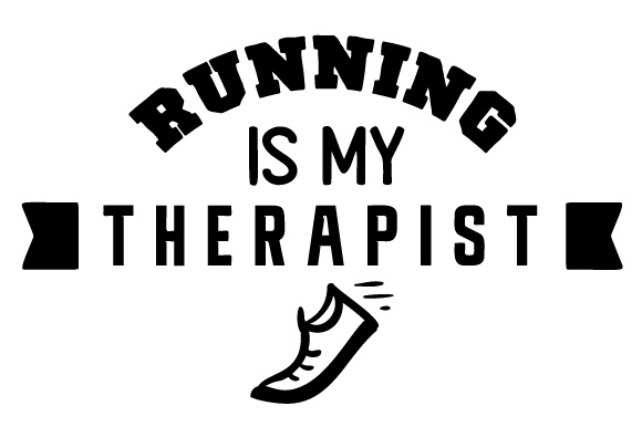 Running is My Therapist Sports Craft Cut File By Creative Fabrica Crafts