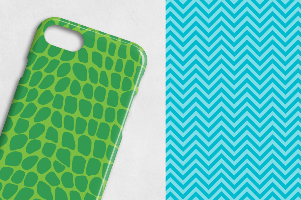 Print on Demand: Safari Graphic Patterns By Prettygrafik - Image 3