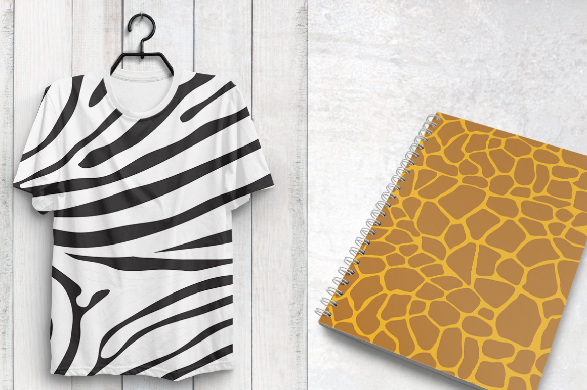 Print on Demand: Safari Graphic Patterns By Prettygrafik - Image 4