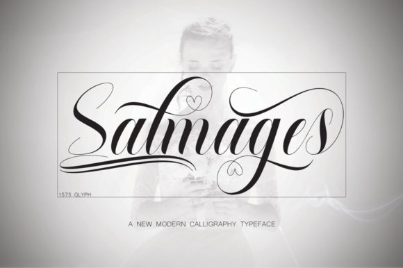 Print on Demand: Salmages Script & Handwritten Font By naldystudio