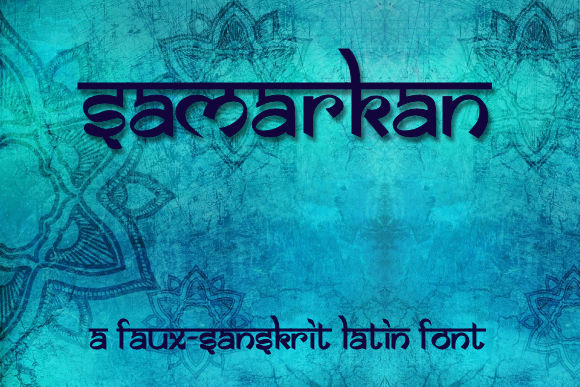 Samarkan Display Font By ethelrp