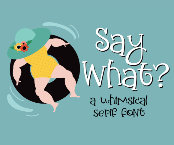 Print on Demand: Say What Script & Handwritten Font By Illustration Ink