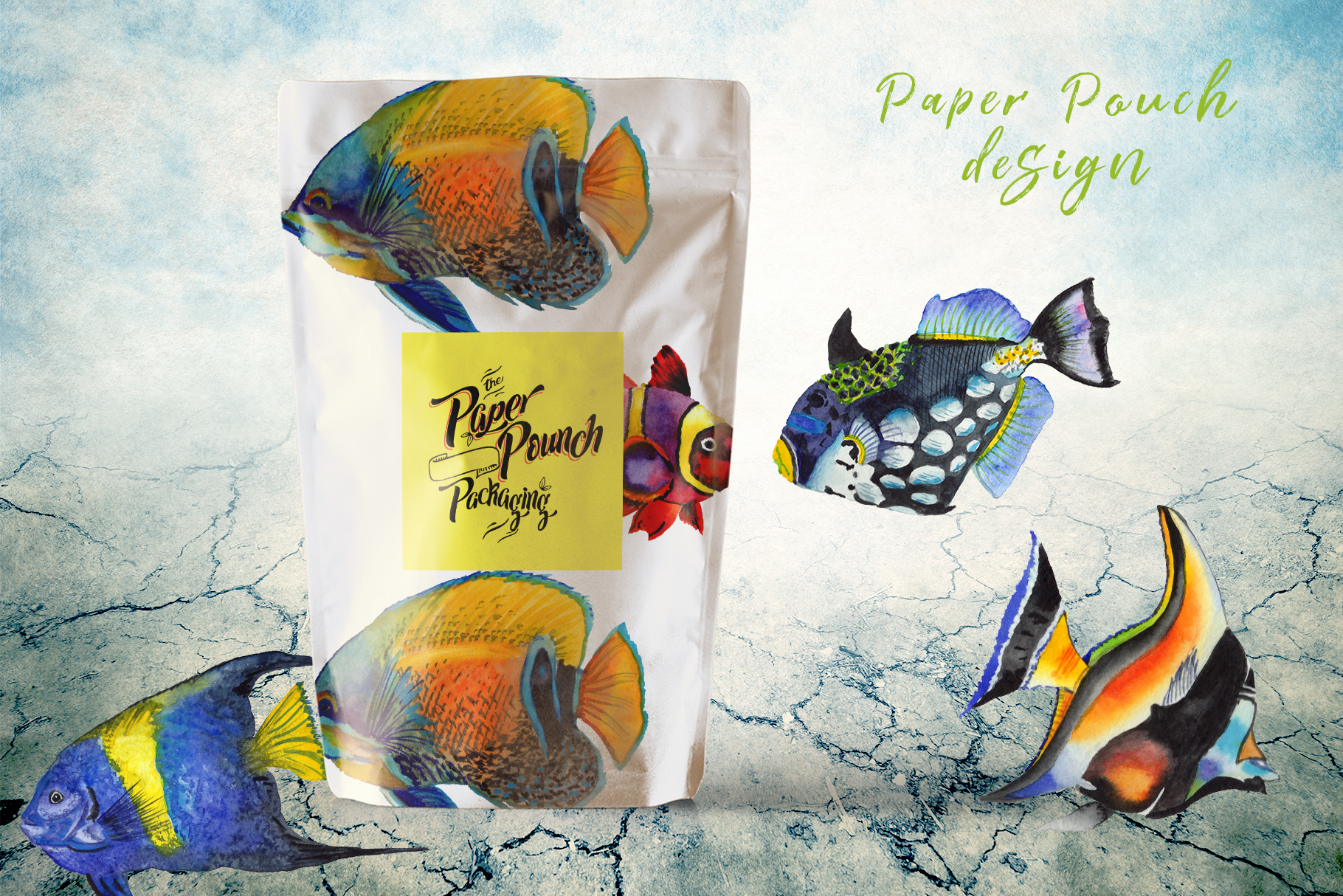 Download Free Sea Fishes Watercolor Set Graphic By Mystocks Creative Fabrica for Cricut Explore, Silhouette and other cutting machines.