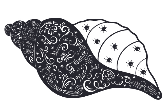 Download Free Seashell Svg Cut File By Creative Fabrica Crafts Creative Fabrica for Cricut Explore, Silhouette and other cutting machines.