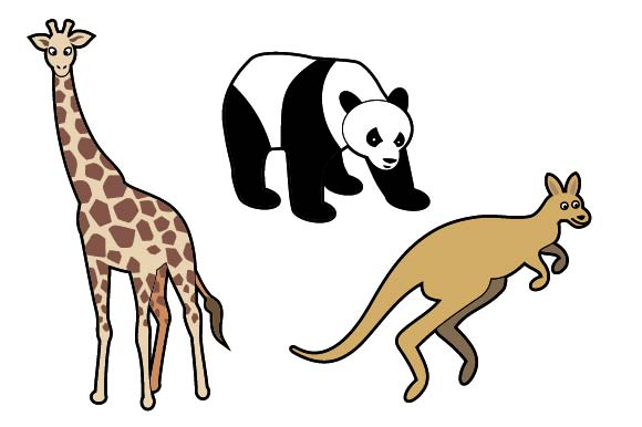 Set of 10 Cute Wild Animals Graphic Illustrations By emnazar2009 - Image 4