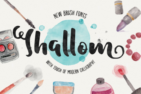 Print on Demand: Shallom Script & Handwritten Font By Adam Fathony