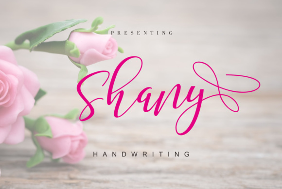 Print on Demand: Shany Script & Handwritten Font By Malindo Creative