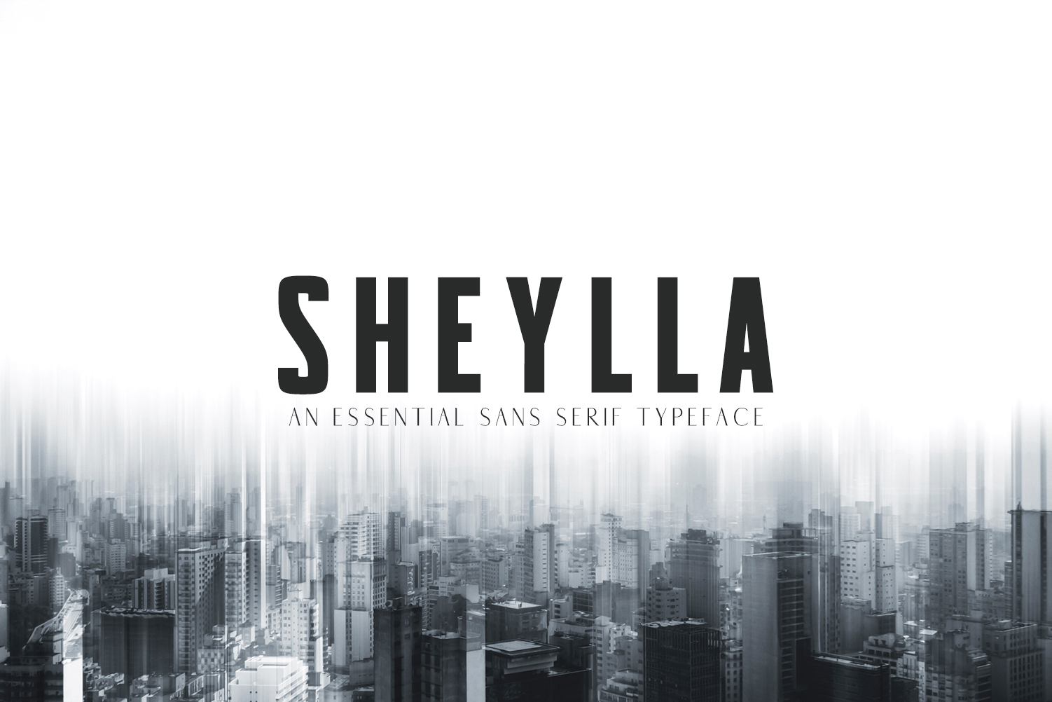Print on Demand: Sheylla Sans Serif Font By Creative Tacos