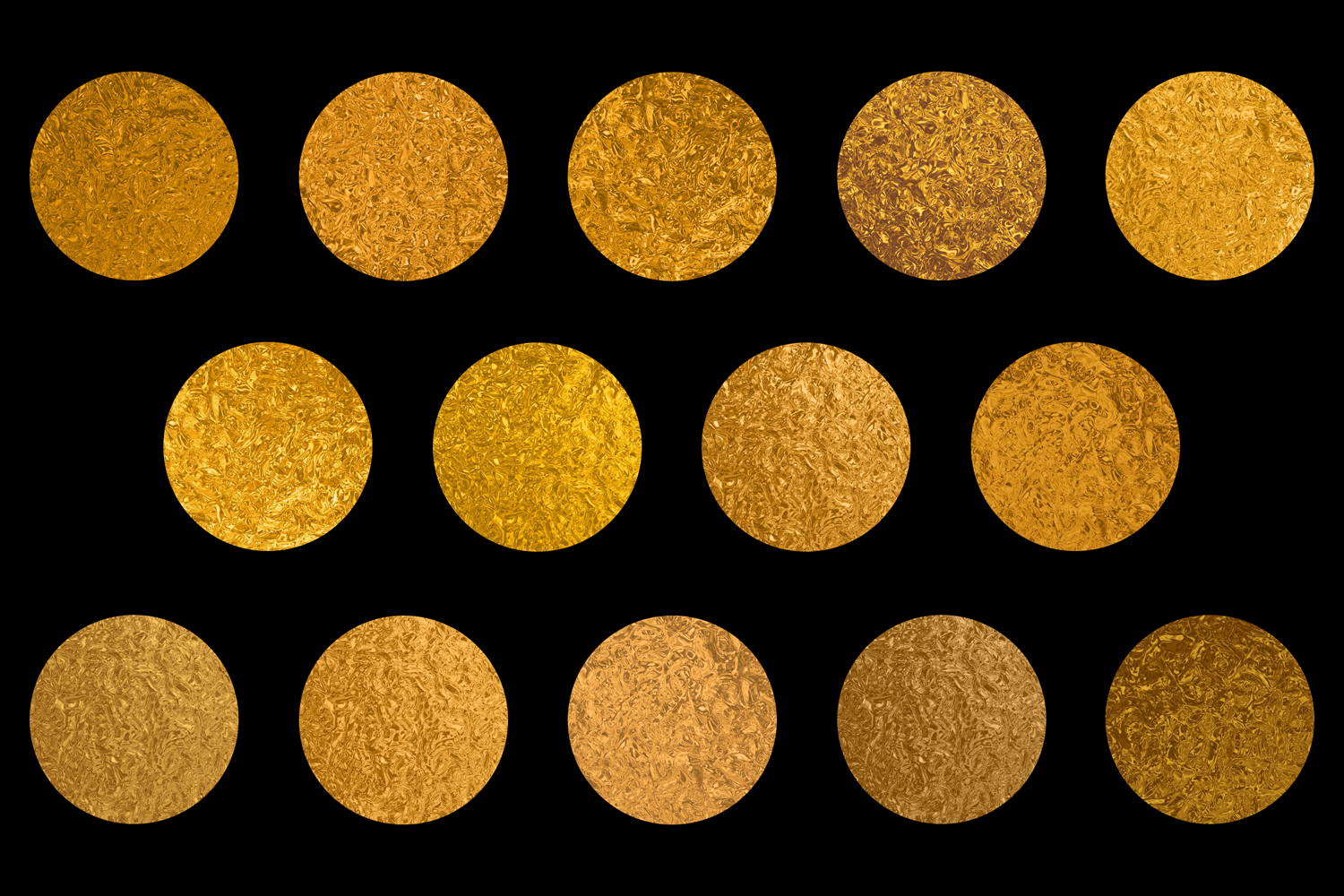 Print on Demand: Shiny Gold Foils Graphic Textures By JulieCampbellDesigns - Image 2