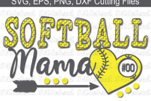 Softball Mama Graphic Crafts By Southern Belle Graphics