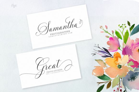 Print on Demand: Solidaritha Script & Handwritten Font By Great Studio - Image 4