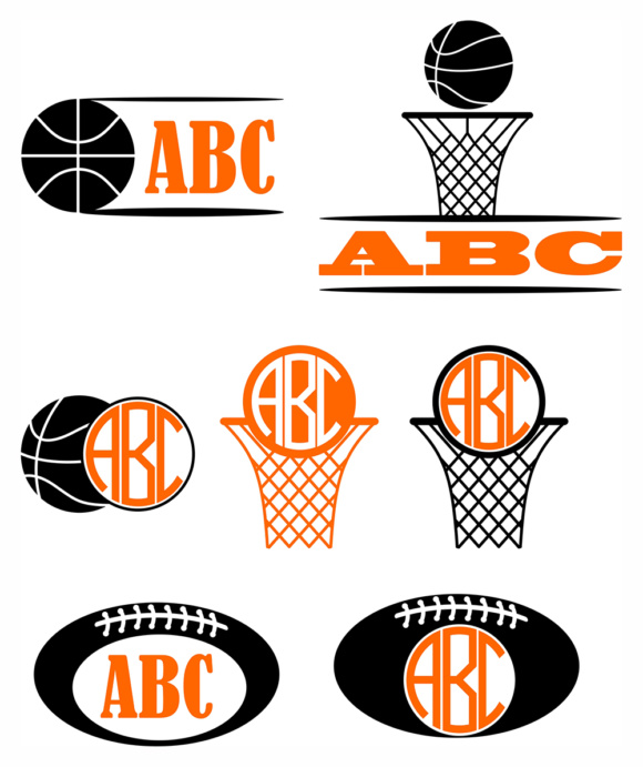 Download Free Sport Boys Monograms Svg Kids Vector Graphic By Vector City for Cricut Explore, Silhouette and other cutting machines.