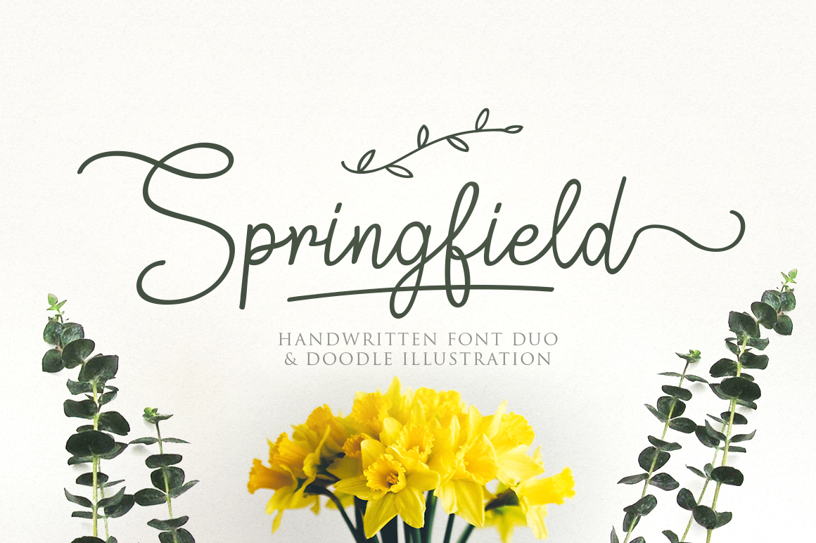 Springfield Font By Weape Design