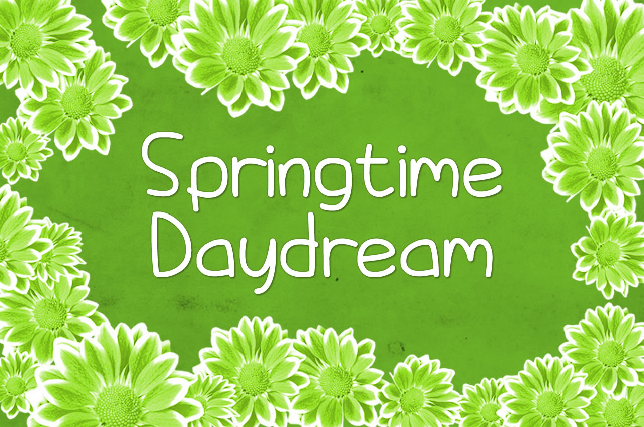 Print on Demand: Springtime Daydream Script & Handwritten Font By Chequered Ink