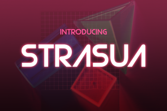 Strasua Display Font By Typodermic