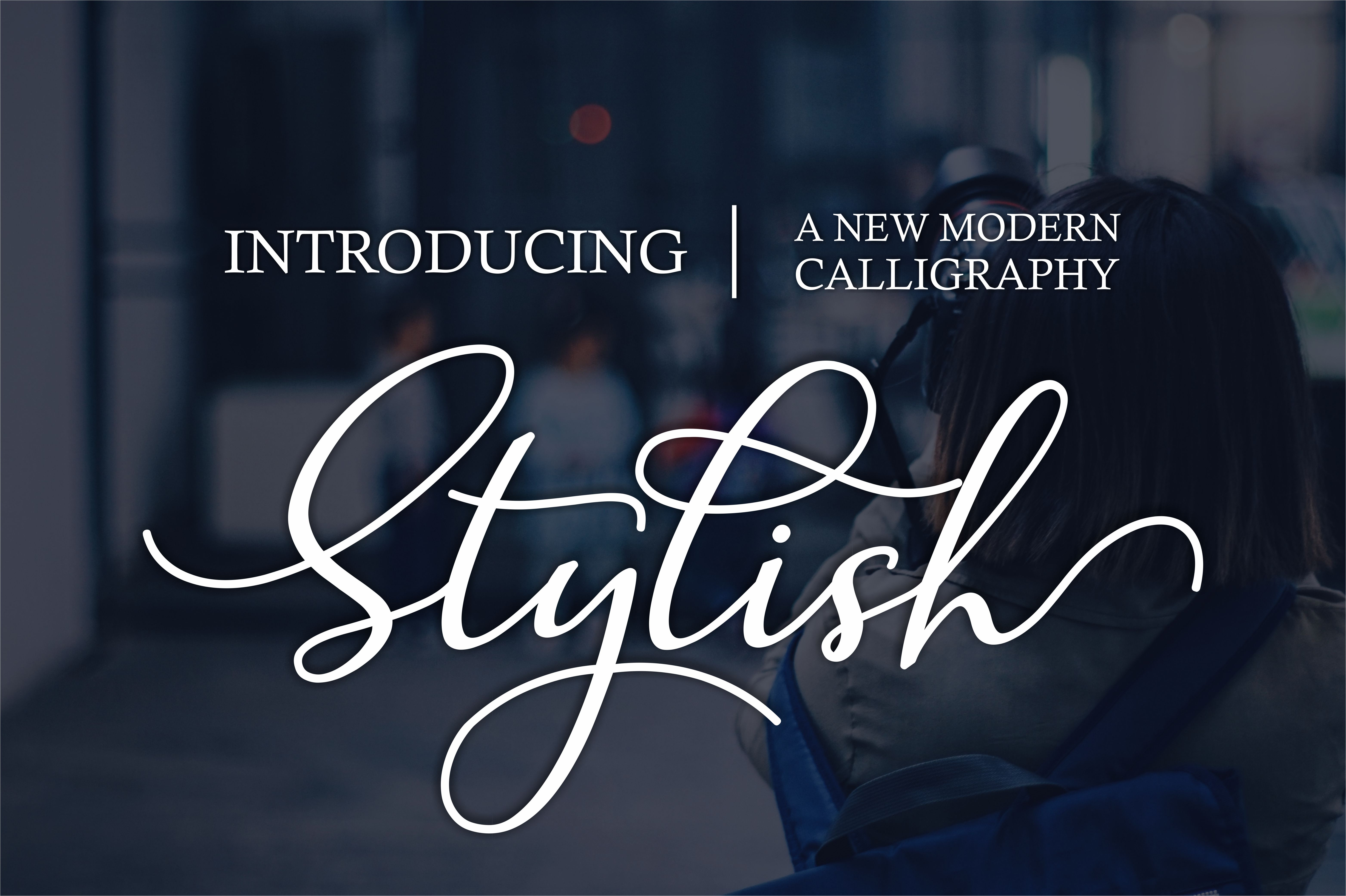 Print on Demand: Stylish Script & Handwritten Font By wdfont.creative