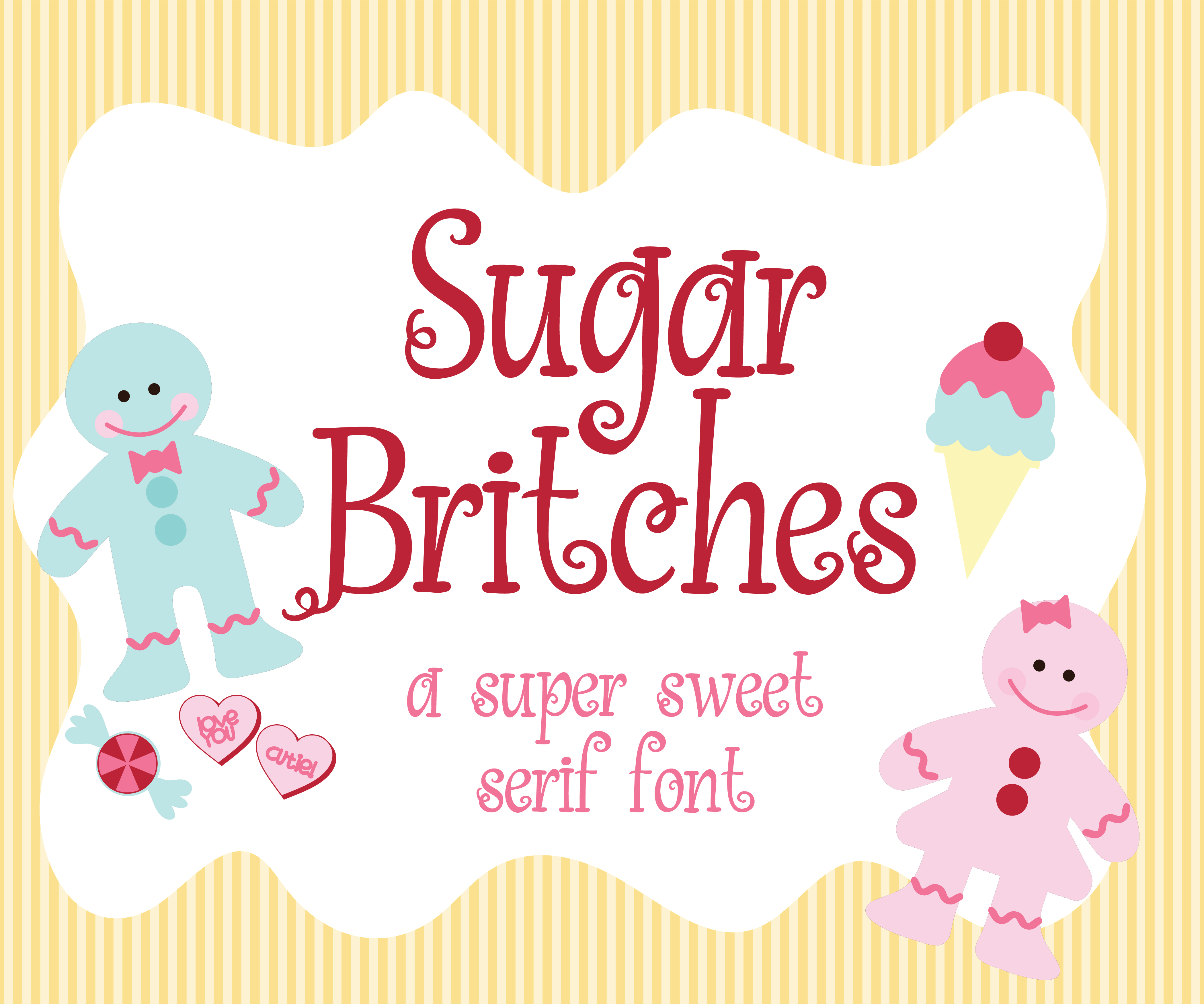Download Free Sugar Britches Font By Illustration Ink Creative Fabrica for Cricut Explore, Silhouette and other cutting machines.