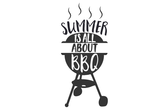 Summer is All About BBQ Summer Craft Cut File By Creative Fabrica Crafts