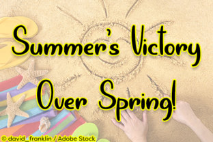 Summer's Victory over Spring Font By Misti