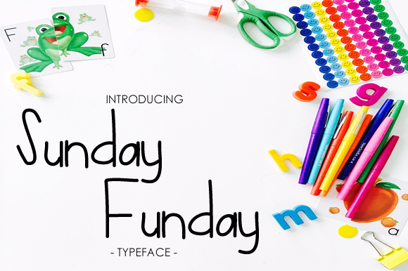 Print on Demand: Sunday Funday Script & Handwritten Font By yh.seaofknowledge