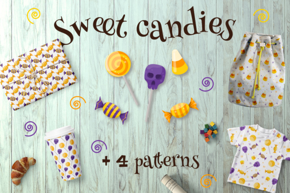 Sweet Candies Graphic Objects By butus.cm