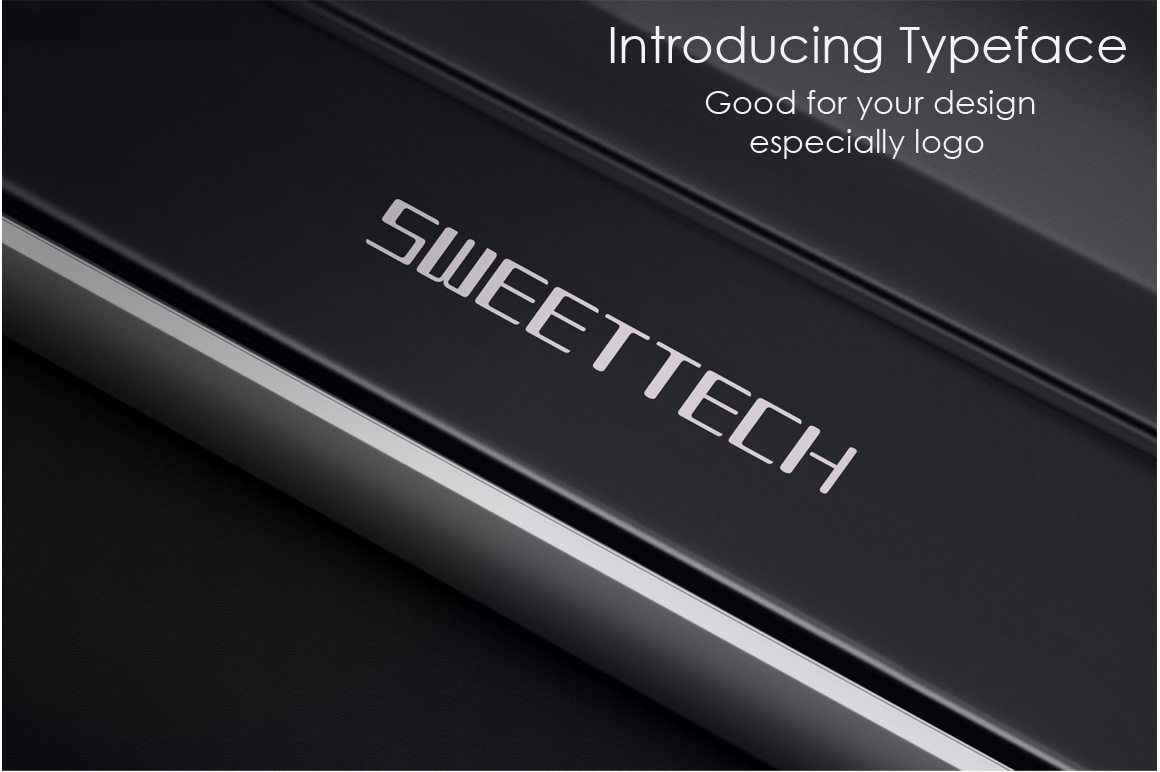 Print on Demand: Sweettech Sans Serif Font By ufonts