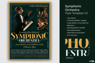 Symphonic Orchestra Flyer Template Graphic By ThatsDesignStore