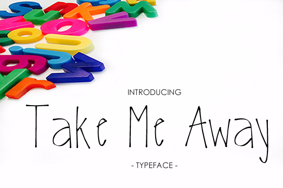 Print on Demand: Take Me Away Script & Handwritten Font By yh.seaofknowledge