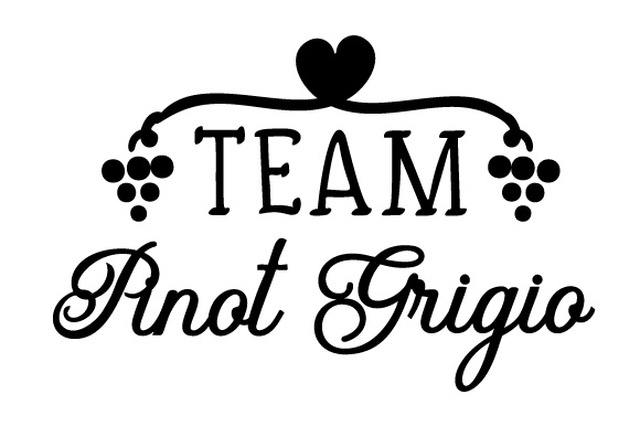 Download Free Team Pinot Grigio Svg Plotterdatei Von Creative Fabrica Crafts for Cricut Explore, Silhouette and other cutting machines.