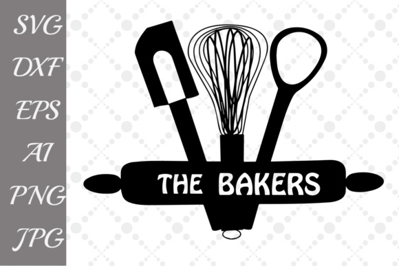 The Bakers SVG Graphic By prettydesignstudio