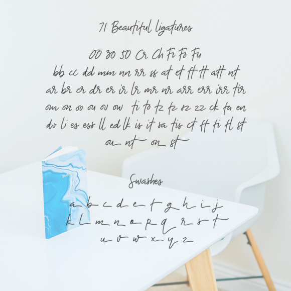 The Bouquet List Font By Nasir Udin Image 15
