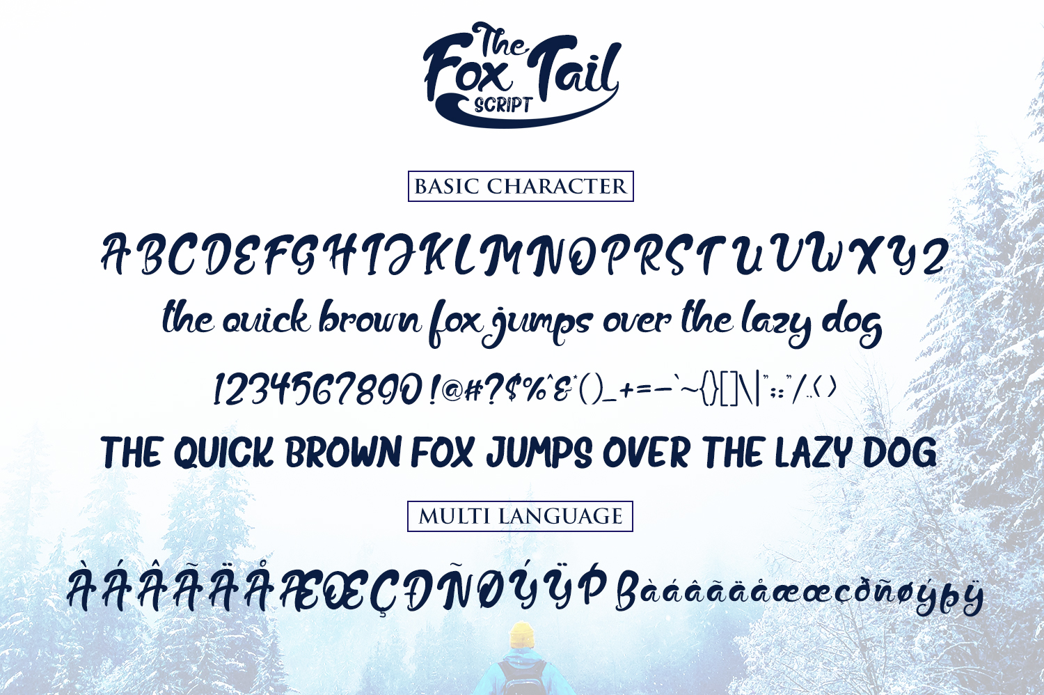 Print on Demand: The Fox Tail Script & Handwritten Font By Din Studio - Image 6