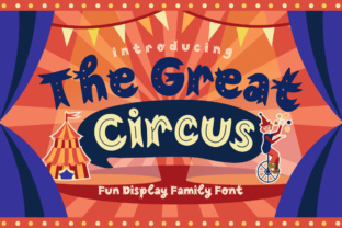 The Great Circus Font By Caoca Studios