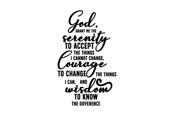 Download Free The Serenity Prayer Svg Cut File By Creative Fabrica Crafts Creative Fabrica for Cricut Explore, Silhouette and other cutting machines.