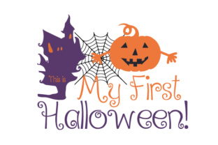 This is My First Halloween! Craft Design By Creative Fabrica Crafts