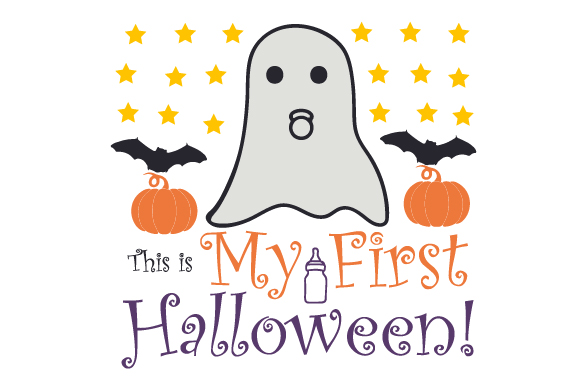 Download Free This Is My First Halloween Archivos De Corte Svg Por Creative for Cricut Explore, Silhouette and other cutting machines.