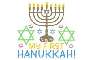 This is My First Hanukkah! Craft Design By Creative Fabrica Crafts