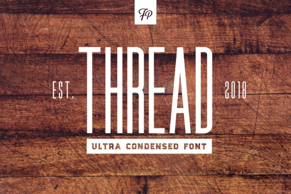 Print on Demand: Thread Sans Serif Font By Fresh Pressed Fonts