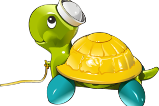 Toy Turtle 3 Graphic By fray06100